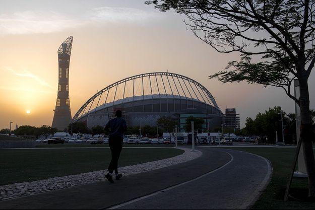 Un stade à Doha.