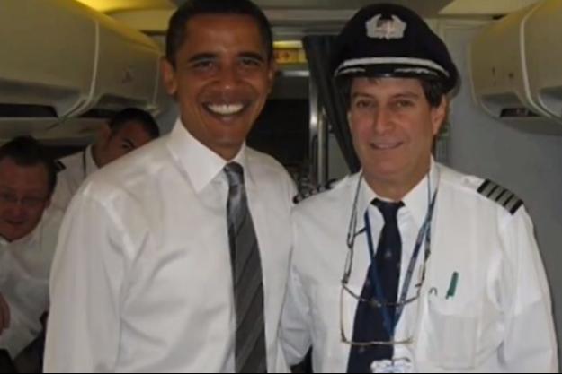 Barack Obama et Andrew Danziger en 2008.