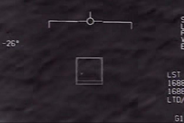 Une image de l'objet ultra-rapide filmé par un avion de l'US Air Force.