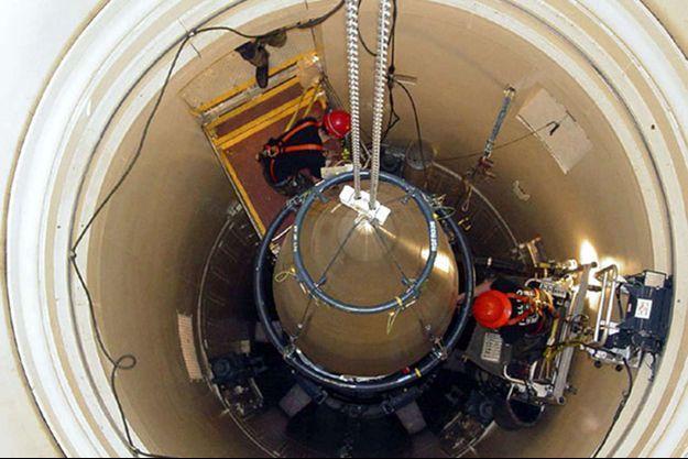 L'un des missiles Minuteman de la base de Malmstrom dans le Montana. Ils auraient été momentanément désactivés en 1967 par un ovni.