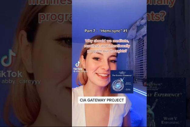 La TikTokeuse @abby_careyyy présente les mystères de l'expérience Gateway.