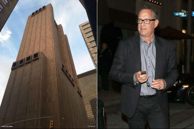 Le mystérieux immeuble photographié par Tom Hanks, à New York.