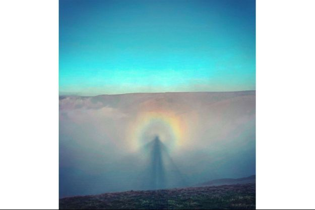 Le spectre de Brocken, photographié par Lee Howdle.