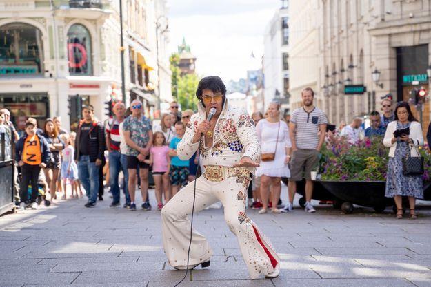 Kjell Elvis le 23 juillet 2020 à Oslo.