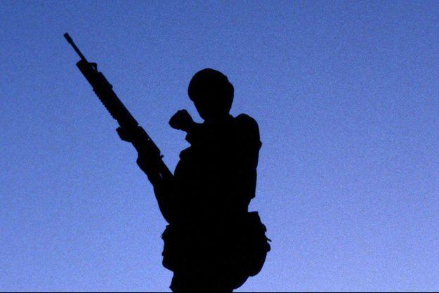 Un soldat du SAS, les forces spéciales britanniques.