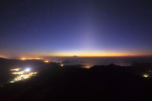 Le ciel de Mayotte.