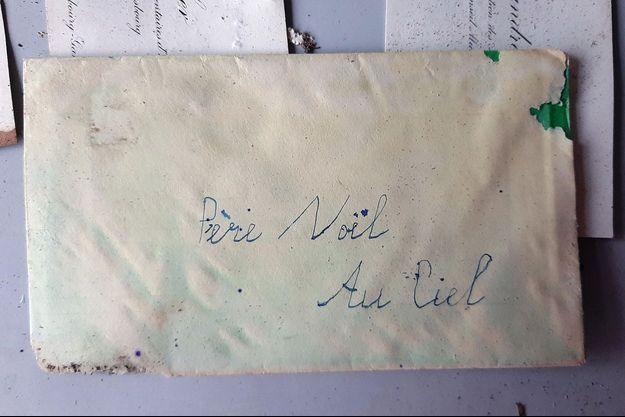 La lettre retrouvée à Strasbourg.