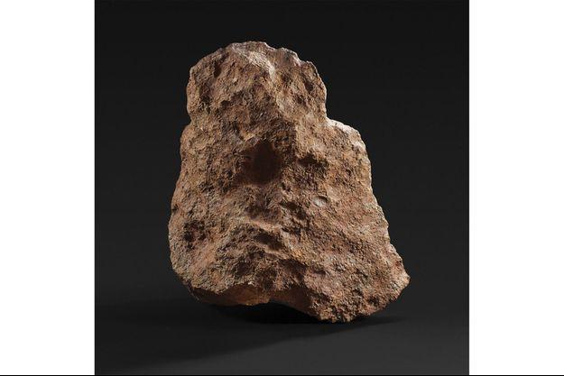 La météorite de Mont-Dieu sera exposée les 19 et 20 octobre à Drouot, avant d'être présentée aux enchères le 21 octobre à partir de 14h00.