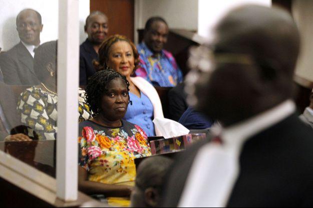 Simone Gbagbo à la réouverture de son procès en décembre dernier.