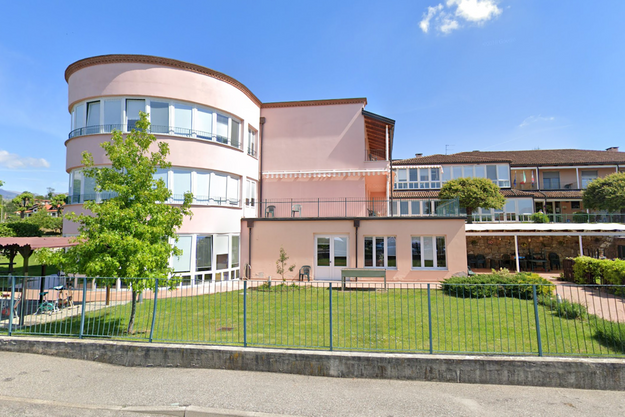 Maison de retraite à Lessona en Italie.