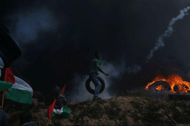 Au moins 59 Palestiniens ont été tués.