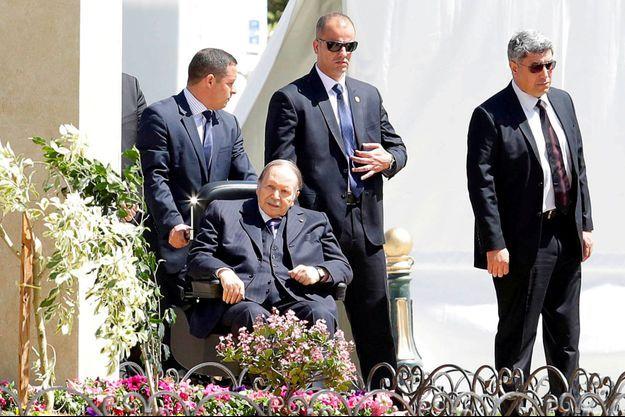Abdelaziz Bouteflika à Alger, en avril dernier.