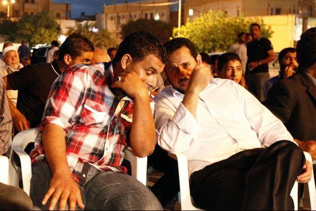 Le 27 juin 2012 à Tripoli, Belhadj, à droiter