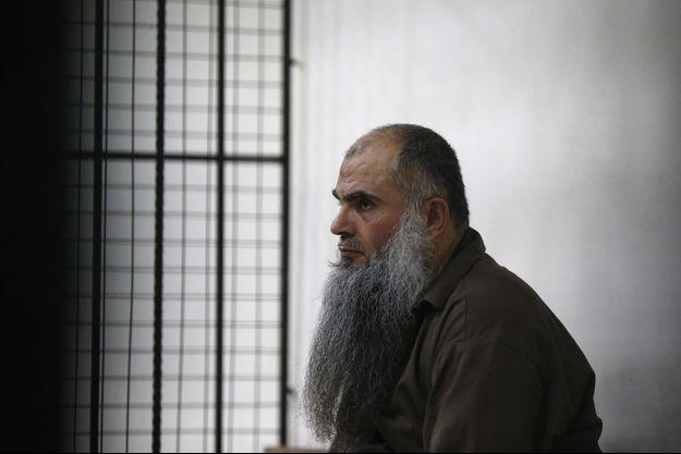 Abou Qatada au tribunal d'Amman, ce jeudi.