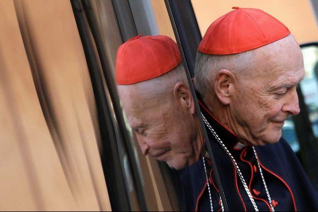 Le cardinal Theodore McCarrick, en janvier 2019.