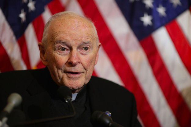 Le cardinal Theodore McCarrick en décembre 2015 à Washington.