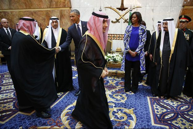 Michelle Obama mercredi à Riyad.
