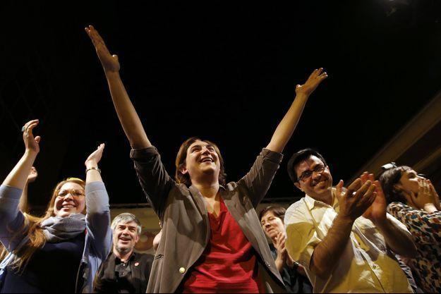 Le 24 mai dernier, soir de victoire pour Ada Colau à Barcelone.