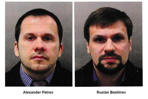 Les deux Russes recherchés par la police britannique.