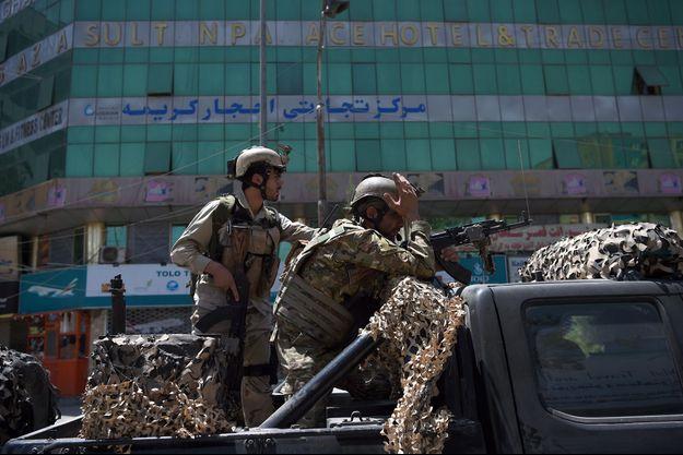 Les forces miltaires afghanes sont parvenues à mettre fin à l'attaque concertée.