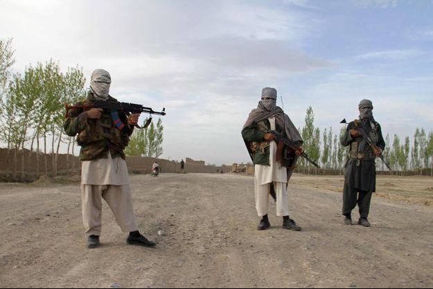 Des taliban dans la province de Ghazni en Afghanistan.
