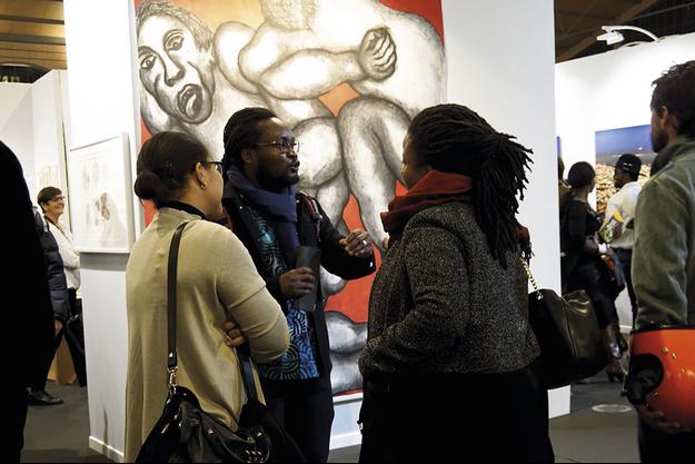 Pendant trois jours, la foire d'art contemporain a réuni 38 galeries de 19 pays.