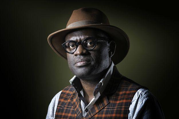 L'écrivain Alain Mabanckou photographié à Paris en septembre 2016