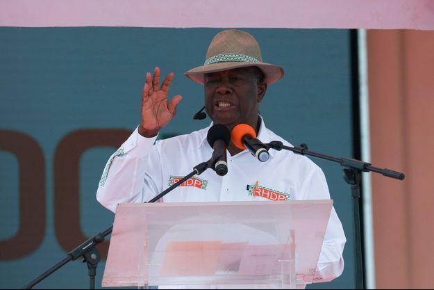 Alassane Ouattara, le 22 août 2020.