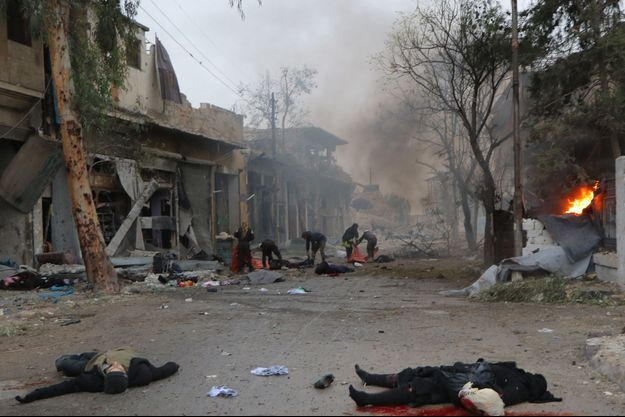 Jub al-Quba, le 30 novembre.Vingt-deux enfants font partie des victimes du dernier bombardement.
