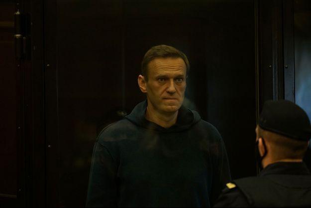 Alexeï Navalny au tribunal de Moscou, le 02 février.