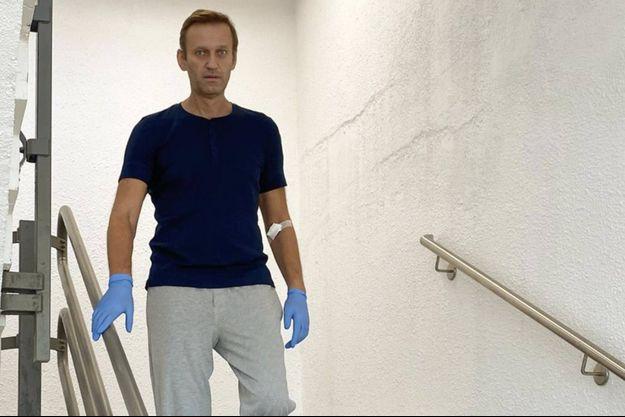 Alexeï Navalny sur une des images partagées sur son compte Instagram.