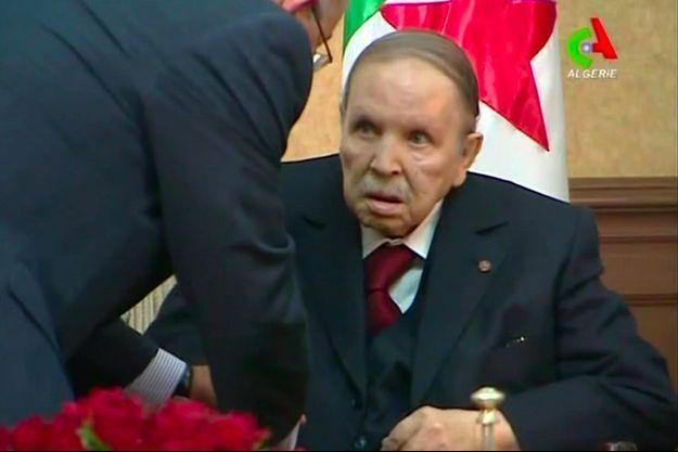 Abdelaziz Bouteflika ne s'est pas adressé de vive voix aux Algériens depuis 2013.