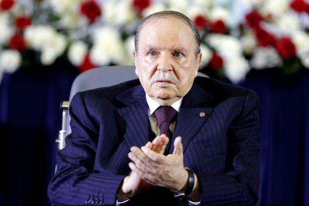 Abdelaziz Bouteflika en avril 2014.