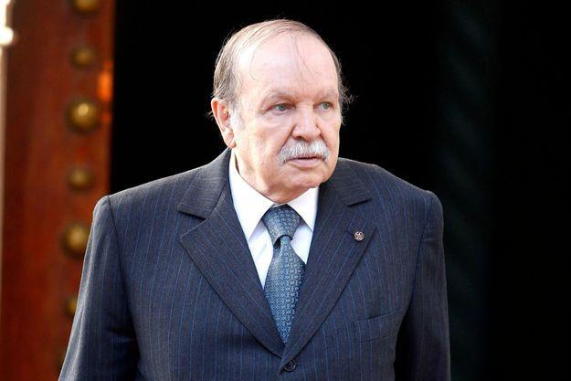Abdelaziz Bouteflika à Alger, le 10 avril dernier, deux semaines avant son accident cérébral.