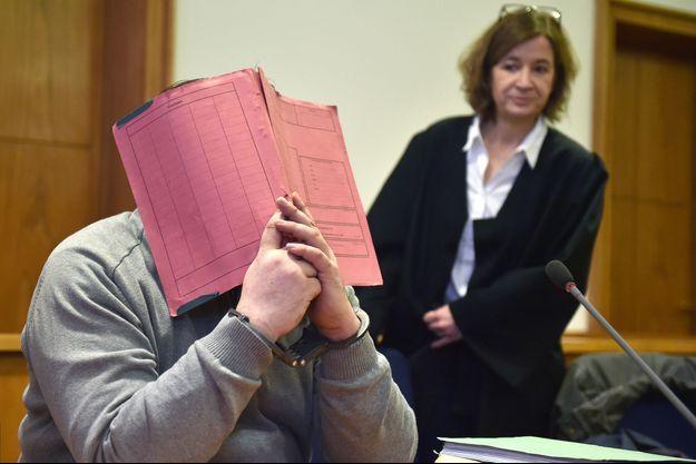 L'ancien infirmier Niels Högel lors de son procès.