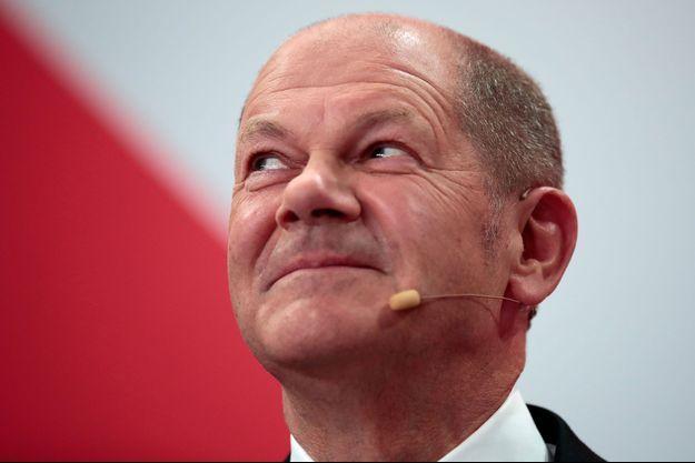 Olaf Scholz devrait succéder à Angela Merkel à la tête de l'Allemagne.