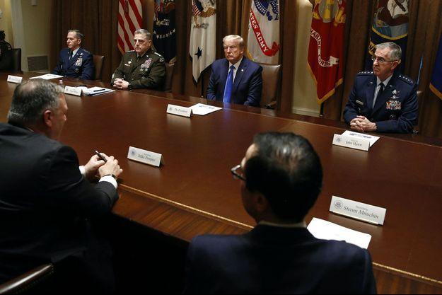 Donald Trump à la Maison-Blanche, samedi.