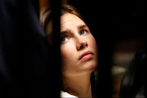 Amanda Knox, en janvier 2011.