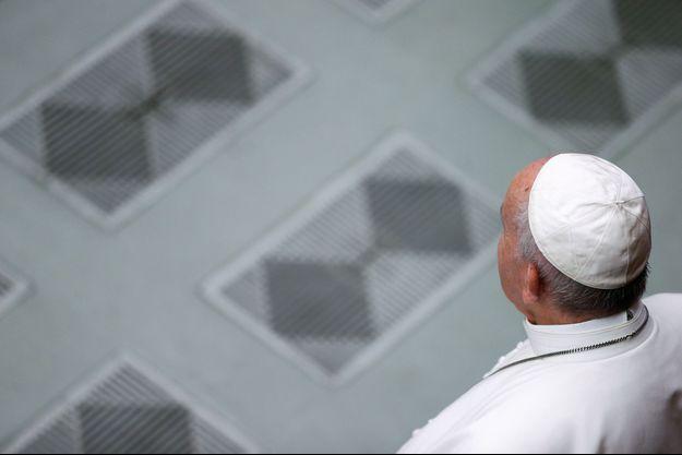 Le pape François au Vatican début août.