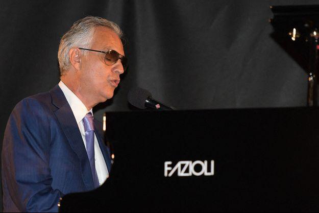 Andrea Bocelli à Milan, le 27 juillet.