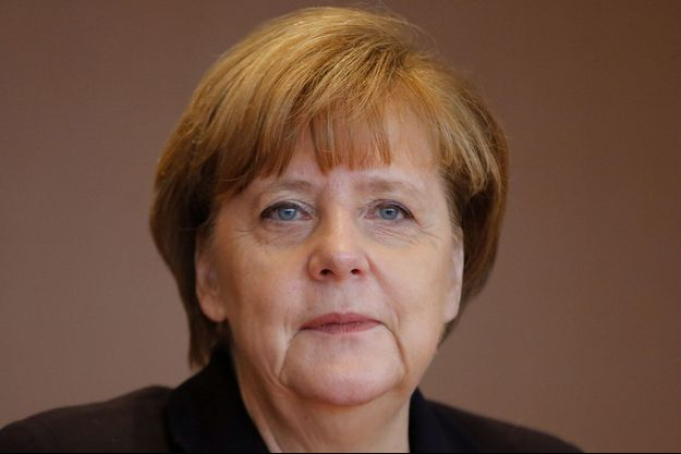 "Angela Merkel, personnalité de l'année 2015 selon ""Time""."