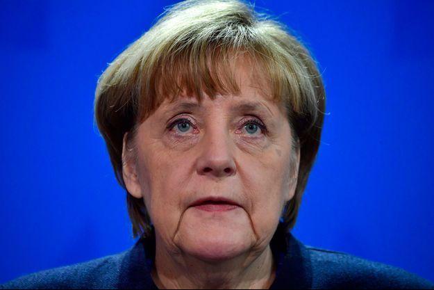 Angela Merkel s'est exprimée à la télévision allemande.