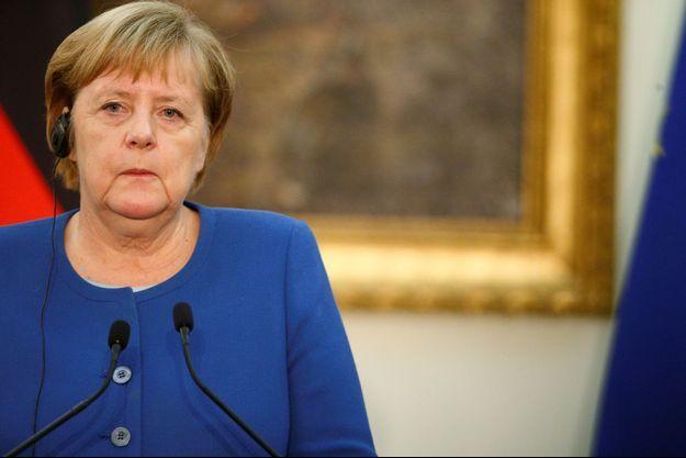 Angela Merkel ici le 11 novembre à Rome.