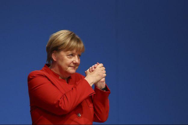 Angela Merkel à Essen, le 6 décembre 2016.