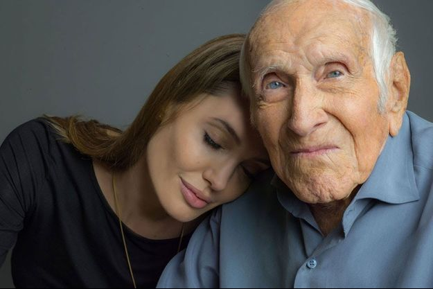 Angelina Jolie et Louis Zamperini.