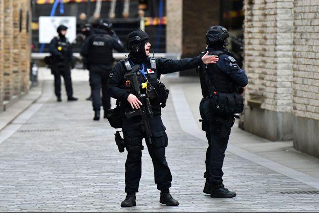 Photo prise à Londres après l'attaque.