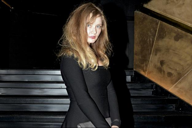 Anna Sorokin à ses débuts flamboyants en 2013…