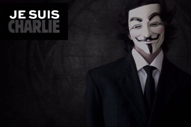 Dans un message publié sur Youtube, le groupe Anonymous annonce l'opération #OpCharlieHebdo