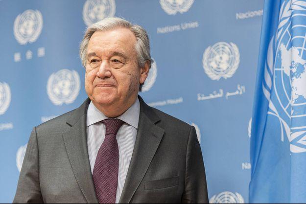 Antonio Guterres, le secrétaire général de l'ONU.