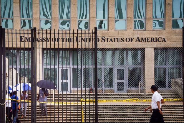 L'ambassade des Etats-Unis à Cuba.